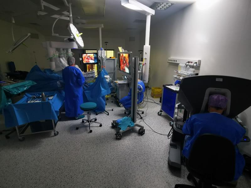 robotul da vinci dr Onaca