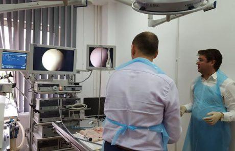 dr gheorghe nita ureteroscopie flexibila