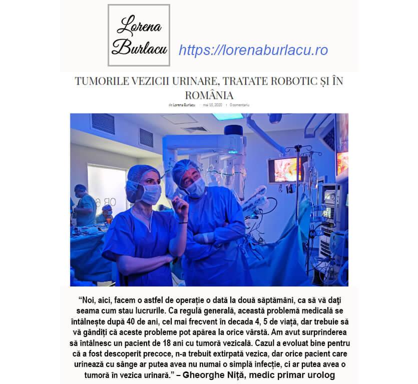 Lorena blog tumori vezicale